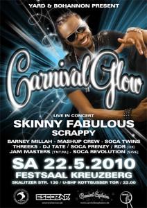 flyer carnival glow 2010 berlin